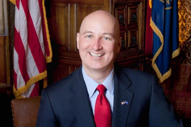 Nebraska Gov. Pete Ricketts on Tuesday vetoed a bill repealing the death penalty in the state. File photo courtesy the state of Nebraska