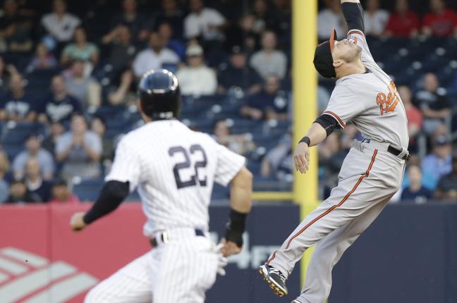 Yankees' Ellsbury Injures Knee