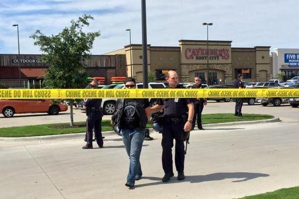 Rival Biker Gang Fight Texas Shootout