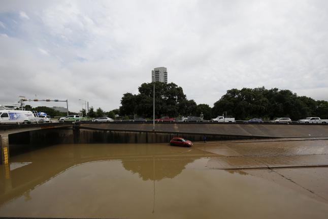Texas Oklahoma Sever Weather Flooding