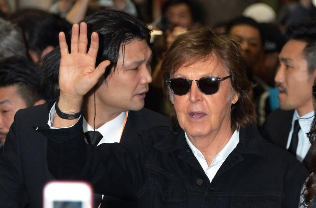 Paul McCartney Says he Gave up Pot