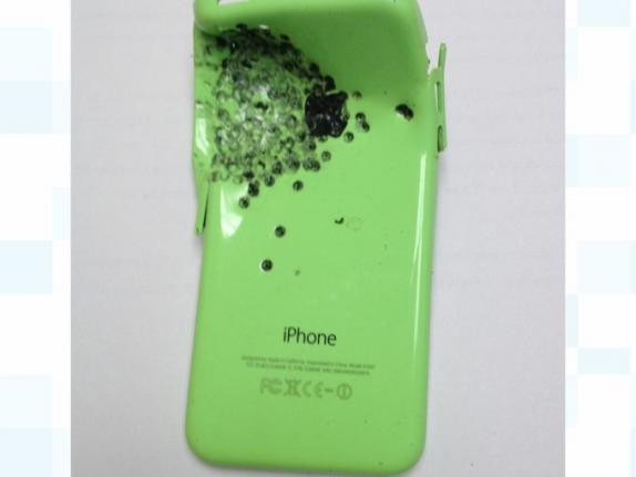 Man Saved by Iphone After Being Shot