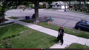 Video: SLC Package Thief Caught On Home Security Camera - Photo: YouTube