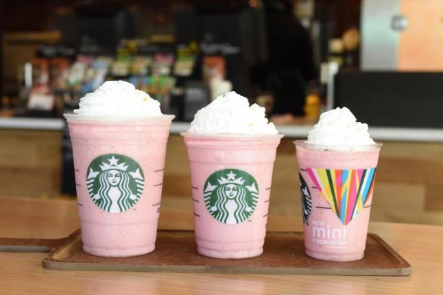 'Mini' Frappuccinos