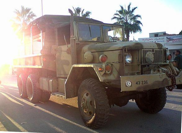 Tunisian Army vehicle