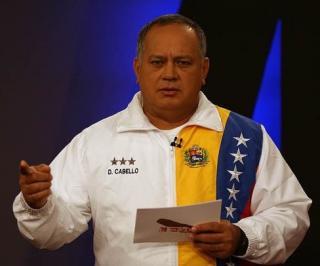 National Assembly President Diosdado Cabello