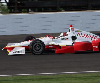 Crash in Indy 500 Practice
