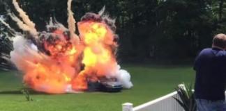 Viral Car Bomb Stunt Prank