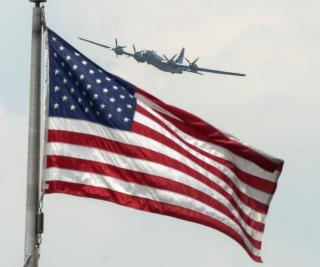 Vets Honored With Victory Flyover