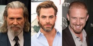 Jeff Bridges, Ben Foster and Chris Pine