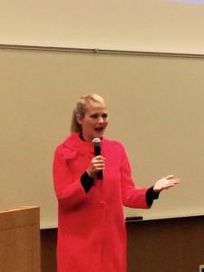 Elizabeth Smart during Spring 2015 speaking engagement in Salt Lake City - Photo: Gephardt Daily