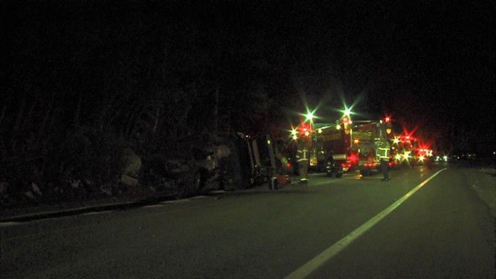 Little Cottonwood Canyon Rollover