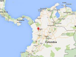 Mudslide in Colombia