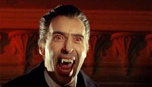 Sir Christoper Lee Dracula