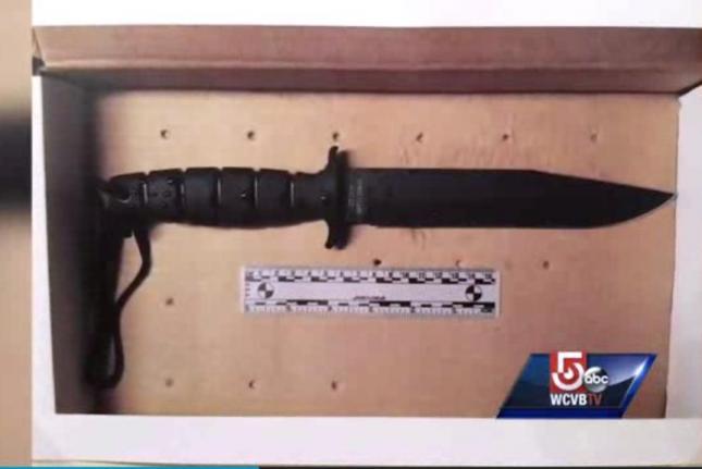 Usaama Rahim FBI Boston Police Knife
