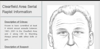 Search For Clearfield Serial Rapist