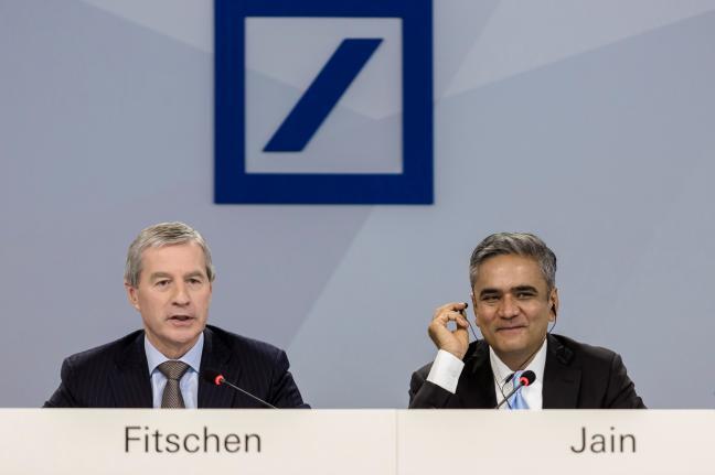 Deutsche Bank Jurgen Fitschen Anshu Jain