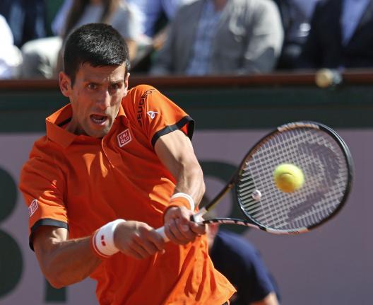 Djokovic Stops Nadal