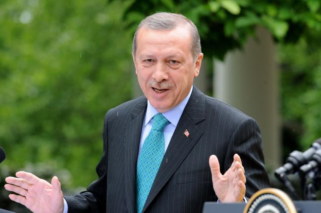 Turkish President Minister Recep Tayyip Erdogan