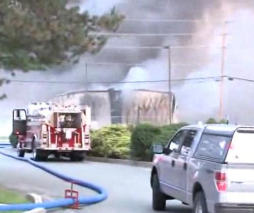 Fire and Explosions at Agriculture Chemical Warehouse