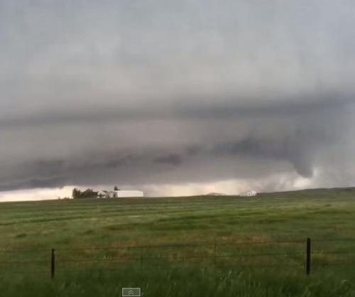 Tornado, Rain, Hail Strikes Northern Colorado