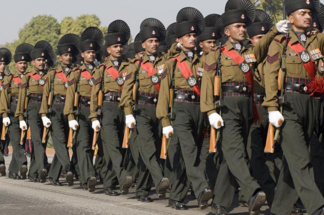 Indian Army Convoy Ambushed