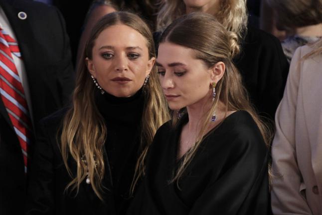 Mary-Kate and Ashely Olsen