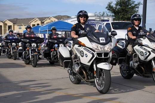 Slcpd Takes Second Place In National Police Motorcycle