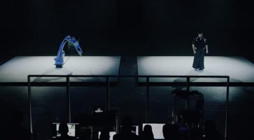 Sword-wielding Robot