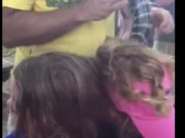 Twins Get Python Caught in Their Hair