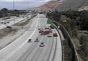 Accident Closes I-15