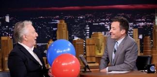 Jimmy Fallon Inhaling Helium
