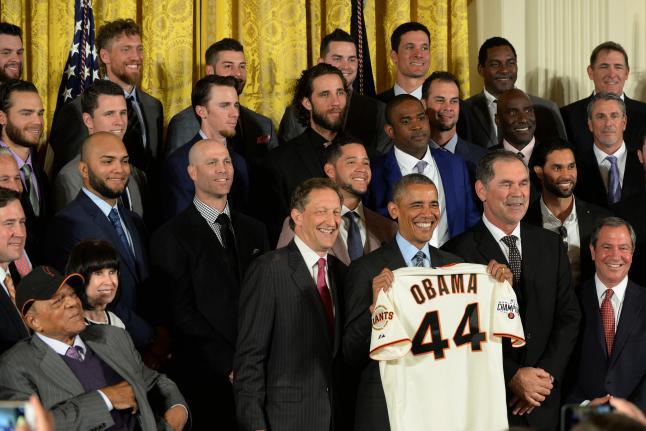 Giants Visit White House