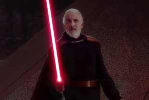 Sir Christoper Lee Star Wars