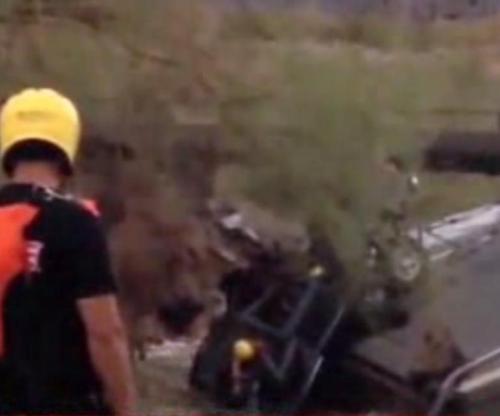 Interstate 10 Bridge Collapse in California