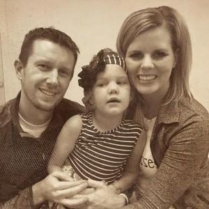 Josh and Jamie Terry with Kycie (Kisses for Kycie Facebook)