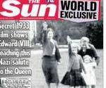 Photo Of Queen Elizabeth II Giving Nazi Salute