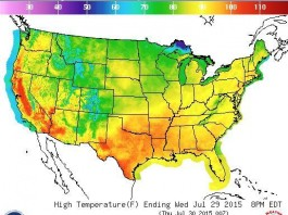 Scorching Temperatures Expected From Coast to Coast