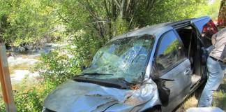 Tree Fell On Their Van Along SR-89 in Logan Canyon