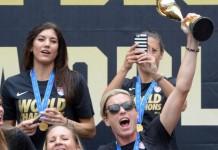 US Women Soccer Team Welcomed