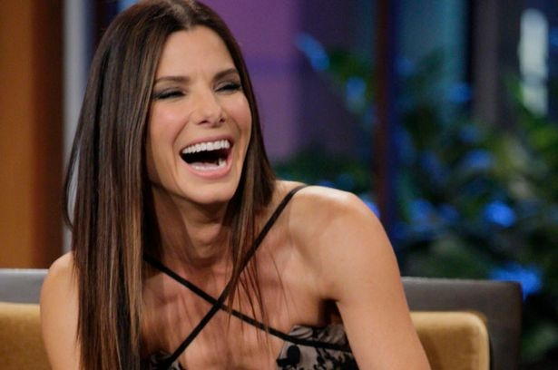 Image result for sandra bullock laughing