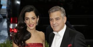 Amal and Mark Clooney