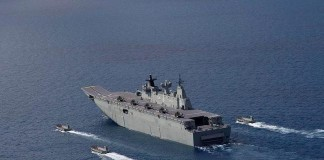 Australia's First LHD Ship