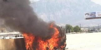Fiery Crash I-15 Utah County