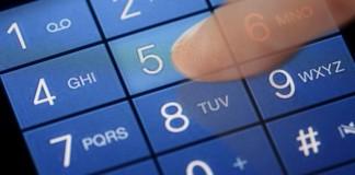 Cellphone Dial Buttons