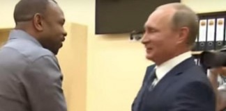 Roy Jones Jr. Asks Vladimir Putin