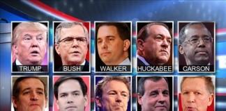 First GOP Debate 2015