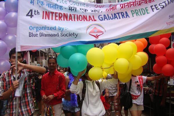 Gay Pride Parade in Napal