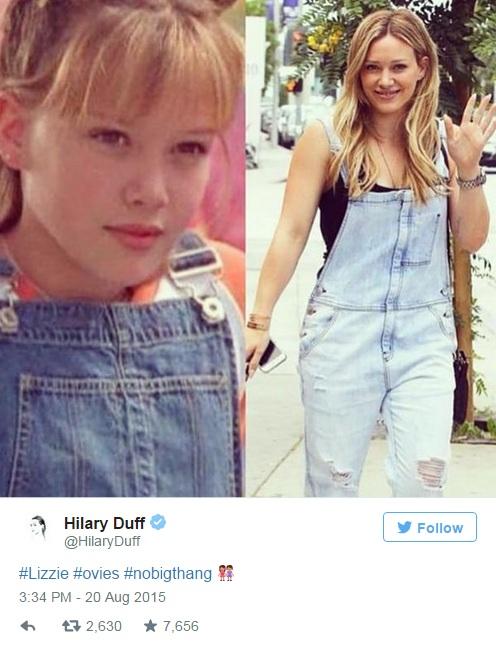 Hilary Duff Twitter