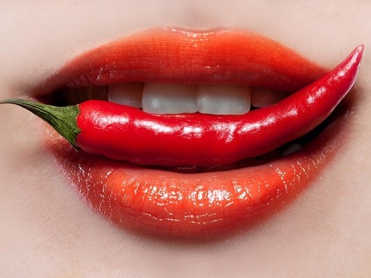 Hot Pepper and Lips